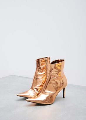 Haider Ackermann alderbaran magnolia fine middle heel boot $1,100 thestylecure.com