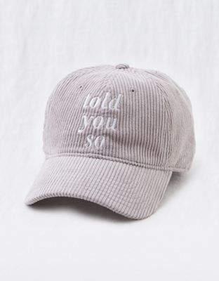 aerie Corduroy Baseball Hat