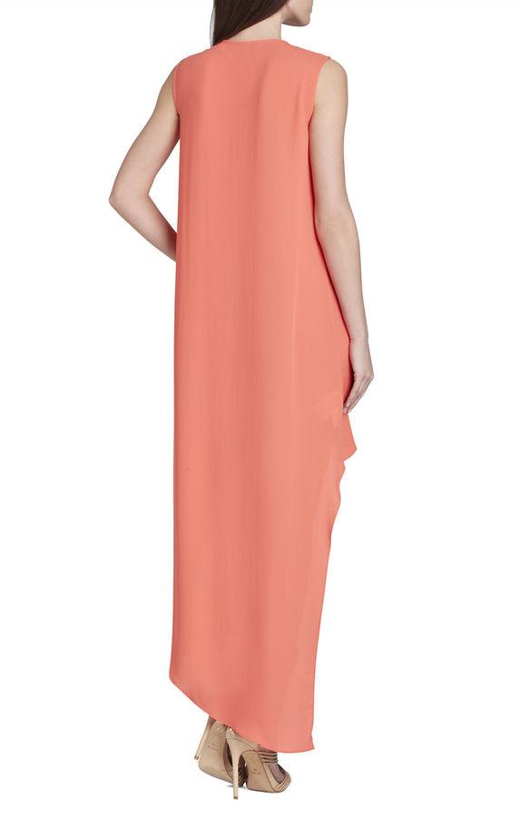 BCBGMAXAZRIA Tara High-Low Maxi Dress