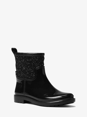 MICHAEL Michael Kors Blakely Glitter Rain Boot