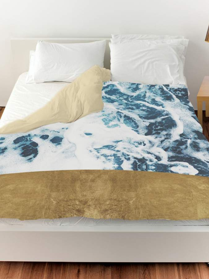 Mykonos Water Duvet Cover