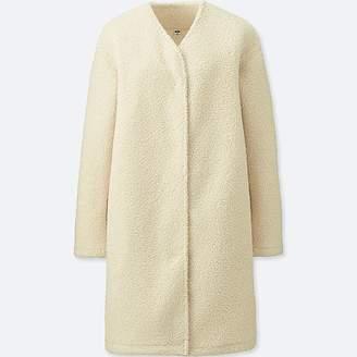 Uniqlo Women's Fleece Long-sleeve Coatigan