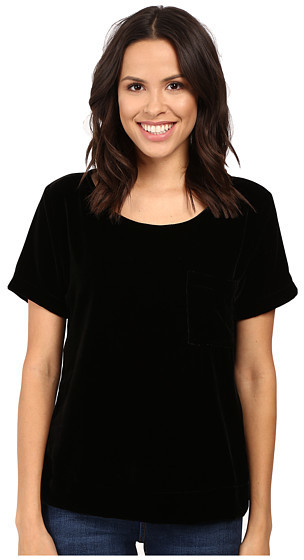 Three Dots Three Dots Velvet Tee