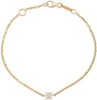 Anita Ko 18kt yellow gold asscher diamond chain bracelet