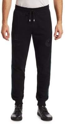Saks Fifth Avenue x Anthony Davis Striped Drawstring Sweat Pants