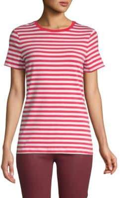 Saks Fifth Avenue Essential Fit Stretch Cotton Tee