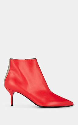Pierre Hardy Women's Alpha Leather Ankle Boots - Red