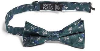 Nordstrom Ditsy Rose Silk Bow Tie