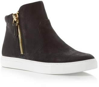 Kenneth Cole Kiera Side Zip High Top Sneakers