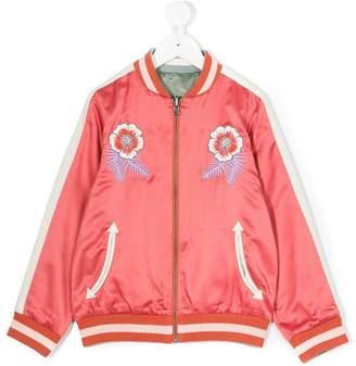 Stella McCartney reversible embroidered bomber jacket