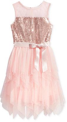 Pink & Violet Sequin Fairy Dress, Big Girls (7-16) $84 thestylecure.com