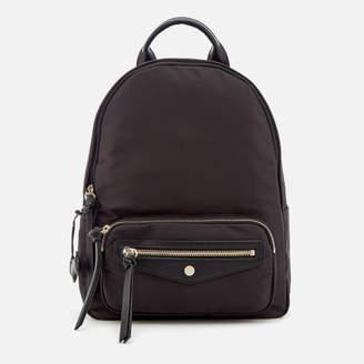 Radley Women's Merchant Hall Medium Backpack Ziptop - Black
