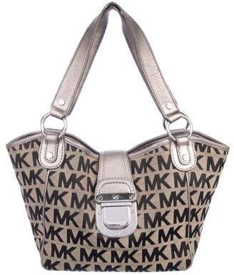 3237d0807243 MICHAEL Michael Kors Monogram Canvas Tote
