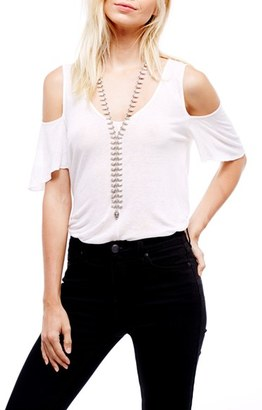 Women's Free People Bittersweet Cold Shoulder Top $68 thestylecure.com