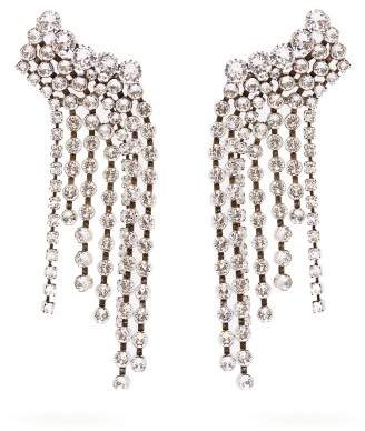 Isabel Marant Crystal Embellished Earrings - Womens - Crystal