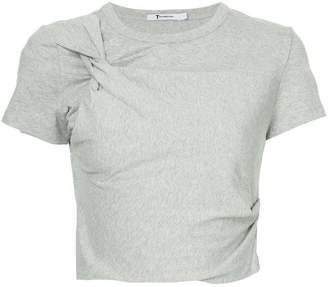 Alexander Wang Twist cropped T-shirt