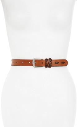 Frye Laced Leather Belt