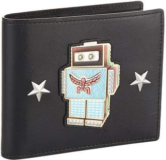 MCM Roboter Leather Bifold Wallet
