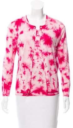 Dolce & Gabbana Tie-Dye Silk Cardigan Set