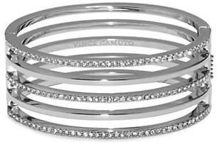 Vince Camuto Silver Crystal Line Hinge Bracelet