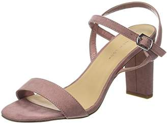 New Look Women's Wide Foot TIMMS Open-Toe Heels (Pink NIU), (40 EU)