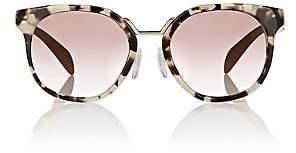 Prada Women's Rounded Square Sunglasses-Brown