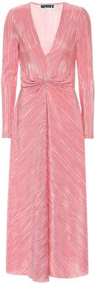Rotate by Birger Christensen Pleated midi dress