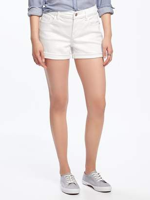 "Stay-White Boyfriend Shorts for Women (3"") $29.94 thestylecure.com"