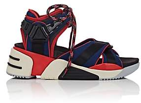 Marc Jacobs Women's Somewhere Mixed-Material Sandals-Red