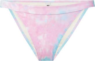 Solid & Striped + RE/DONE Venice Brazilian Tie-Dye Bikini Briefs