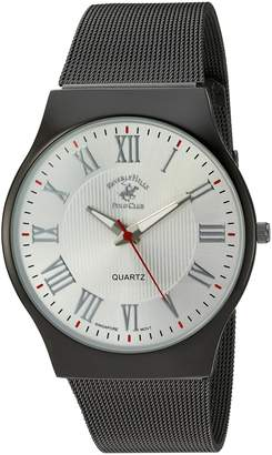 Beverly Hills Polo Club US Men's 52800 Analog Display Analog Quartz Grey Watch