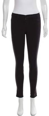 J Brand Rockwood Super Skinny Mid-Rise Jeans