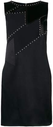Versace studded shift dress