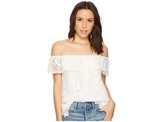 BB Dakota Zahara Off the Shoulder Lace Top Women's Clothing