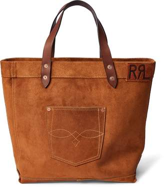 Ralph Lauren Ranch Suede Tote