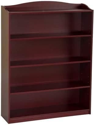 Guidecraft Cherry 5-Shelf Bookshelf