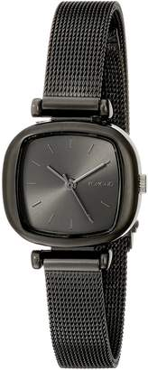 Komono Women's KOM-W1243 Moneypenny Royale Series Analog Display Japanese Quartz Black Watch