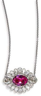 SwarovskiCrystal Flower Pendant Necklace