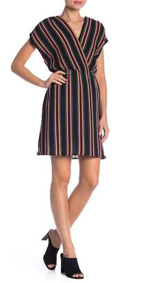 Como Vintage Multi Colored Stripe Dress