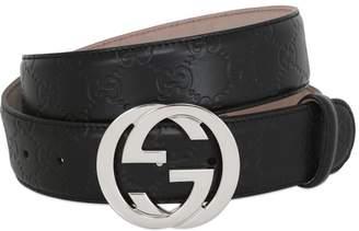 Gucci 40mm Signature Leather Belt
