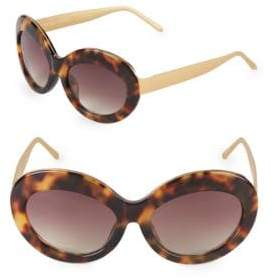 Linda Farrow Luxe 57MM Butterfly Sunglasses
