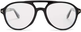 Givenchy Aviator-frame acetate glasses