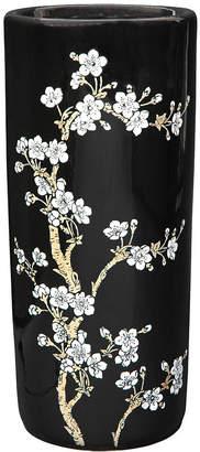 Asstd National Brand Oriental Furniture 18 Flower Blossom Umbrella Stand