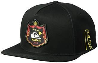 Quiksilver Men's MWRM Crest Snapback Trucker HAT