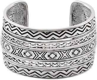 Artsmith BY BARSE Art Smith by BARSE Silver Over Brass Cuff Bracelet