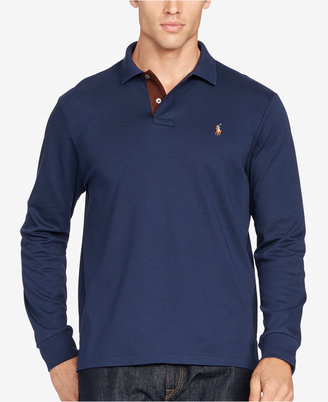 Polo Ralph Lauren Men's Big & Tall Soft-Touch Polo $125 thestylecure.com