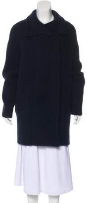 360 Cashmere Wool-Blend Knee-Length Coat