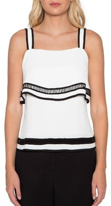Women's Willow & Clay Ladder Stitch Tank $79 thestylecure.com
