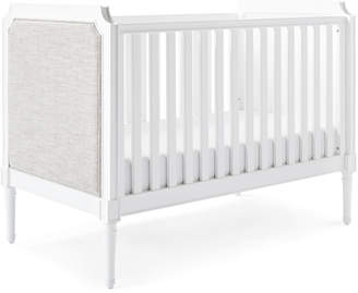 Serena & Lily Harbour Cane Upholstered Convertible Crib