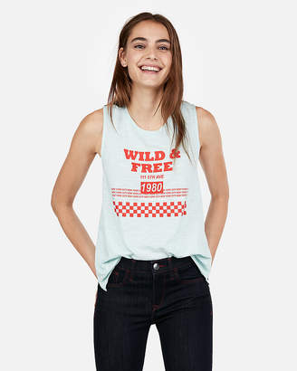 Express One Eleven Wild & Free Graphic Tank